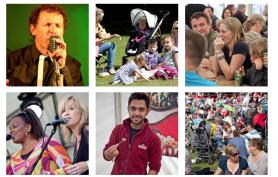 Some scenes from last years Wokingham Festival