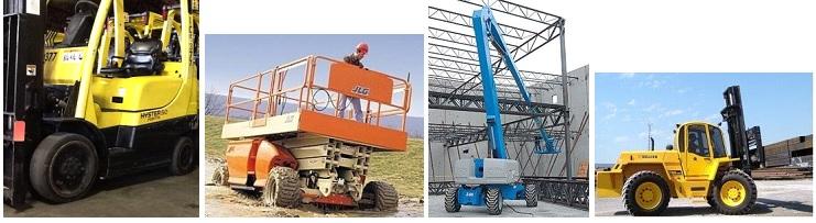 Forklifts & aerial work platforms