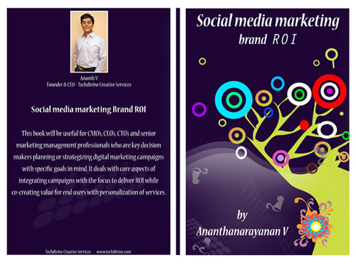 Social media marketing brand ROI BOOK Ananth V