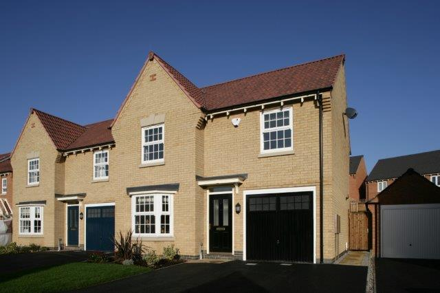 Davidsons new 3 bedroom Alford home which is being built at Anstey