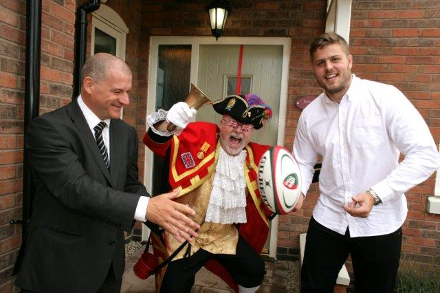 Ed Slater officially launches Davidsons Scraptoft Hall development in Leicester