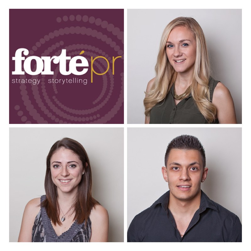 Forte PR's New Hires