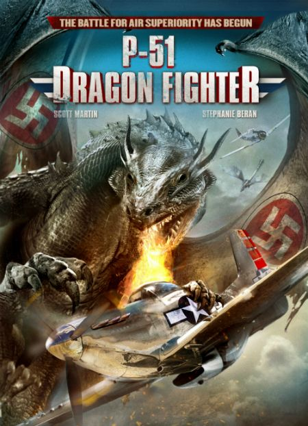"""P-51 Dragon Fighter"" Poster Art"