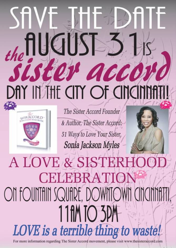 Sonia Jackson Myles Event Sister Accord