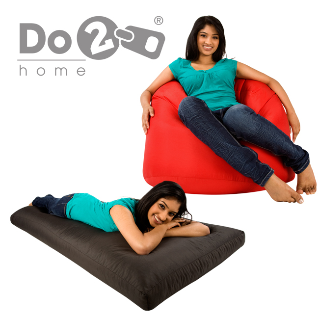 Do2 XL Bean Bag and Bed - red