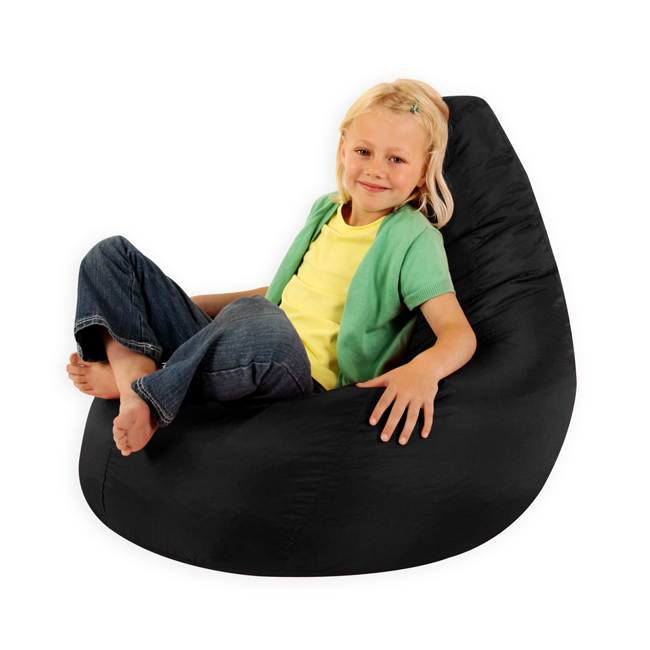 Kids Gaming Pod bean bag - black