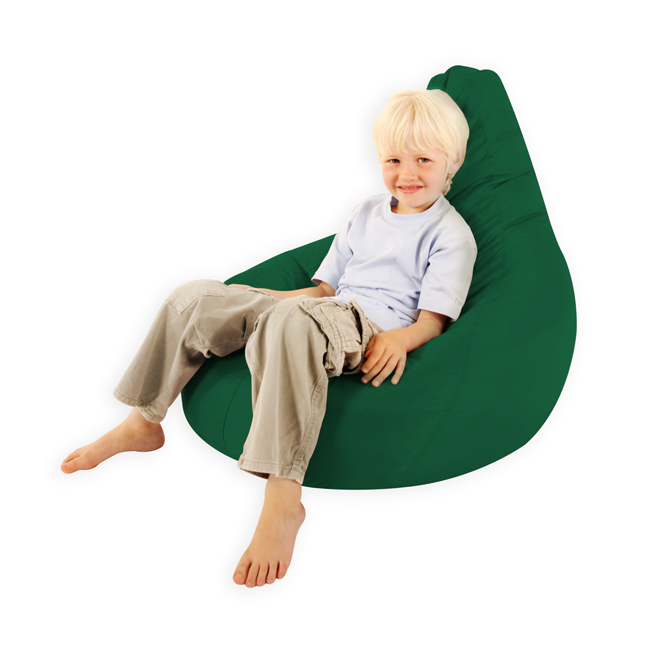 Kids Gaming Pod bean bag - green
