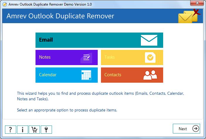 Amrev Outlook Duplicate Remover