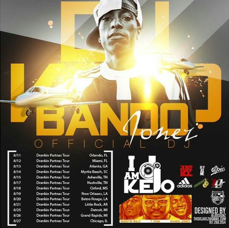 Celebrity Tour DJ Kelo