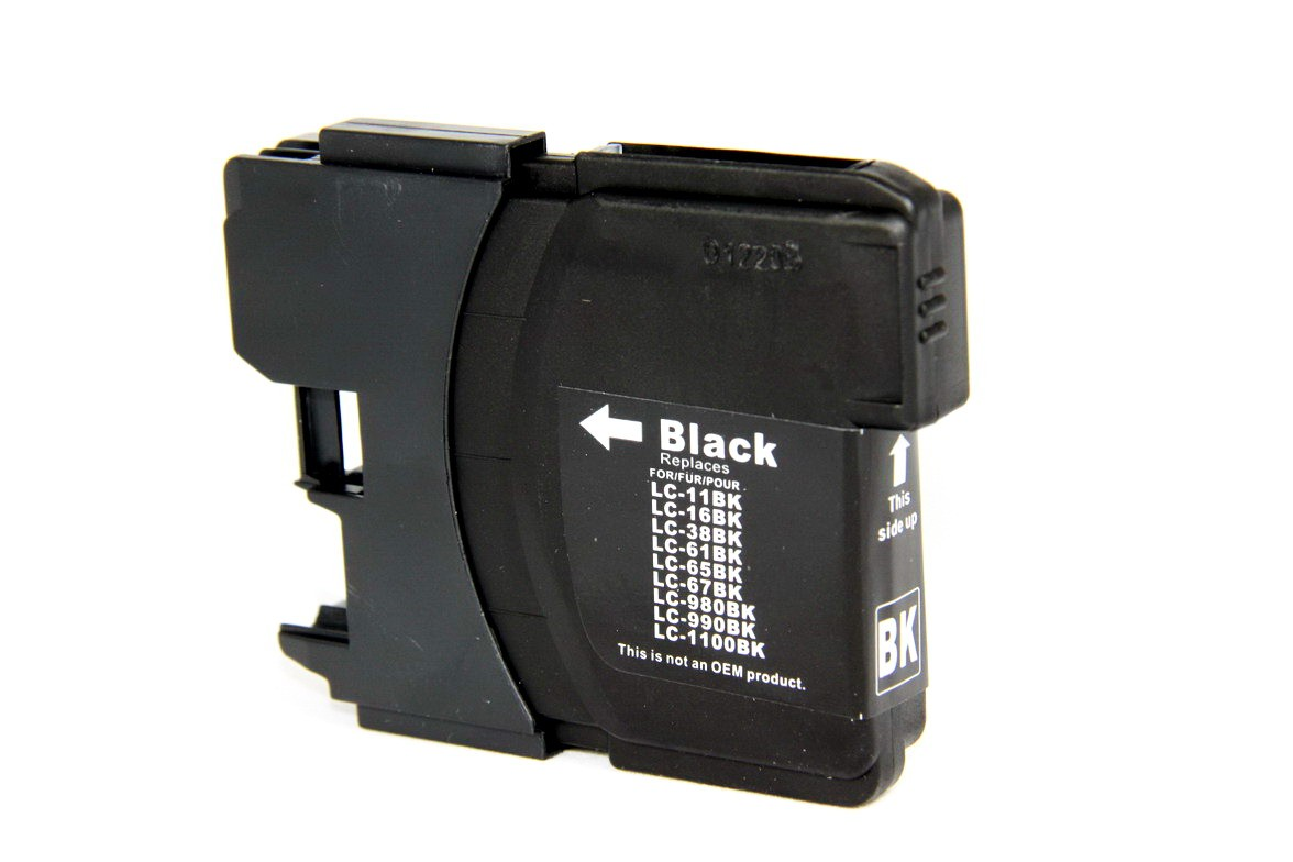 Compatible Brother LC61BK black ink cartridge at I