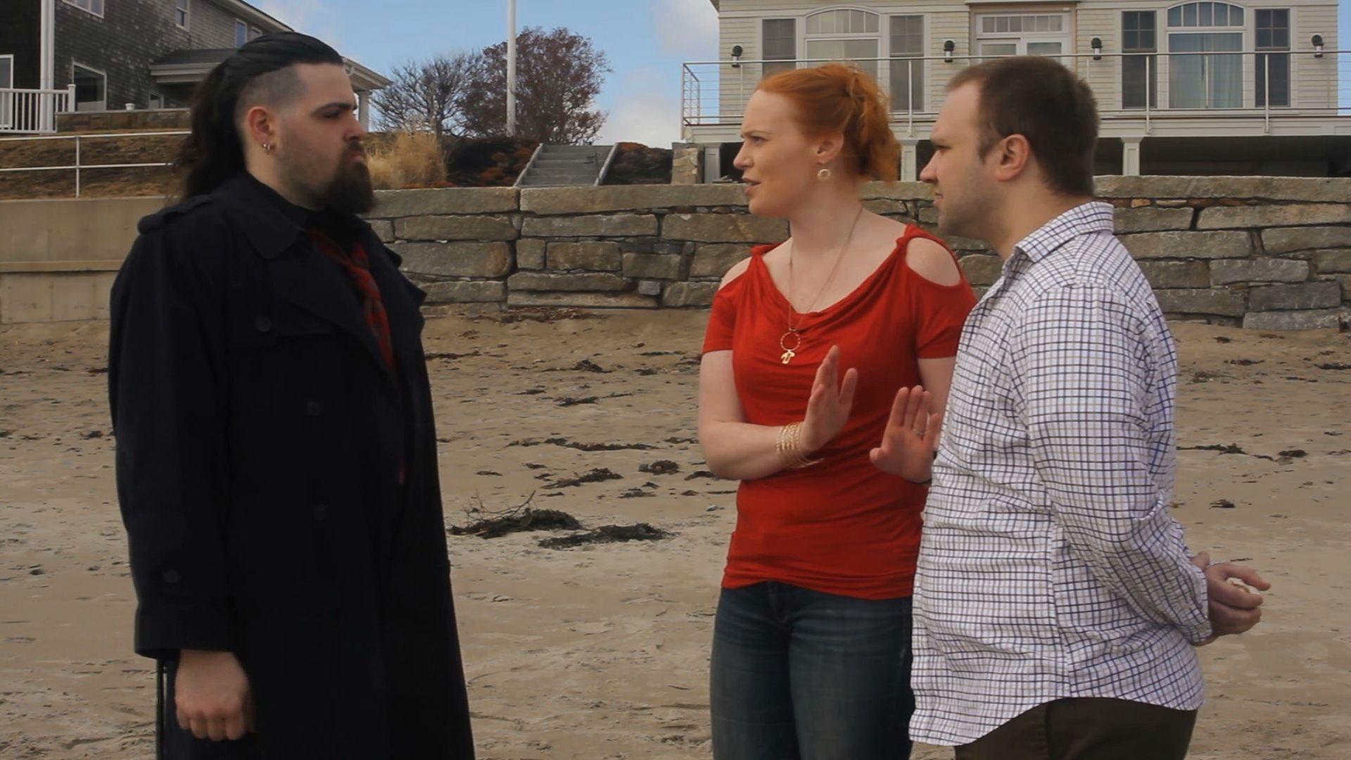 Rocky Maxwell (L), Kimberley Miller, & Billy Pomerleau (R)