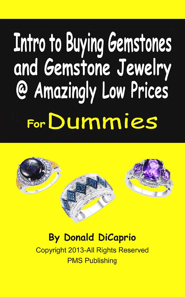 """Intro to Buying Gems & Gem Jewelry @ Lowest Price"" FREE on Amazon, July 10th!"