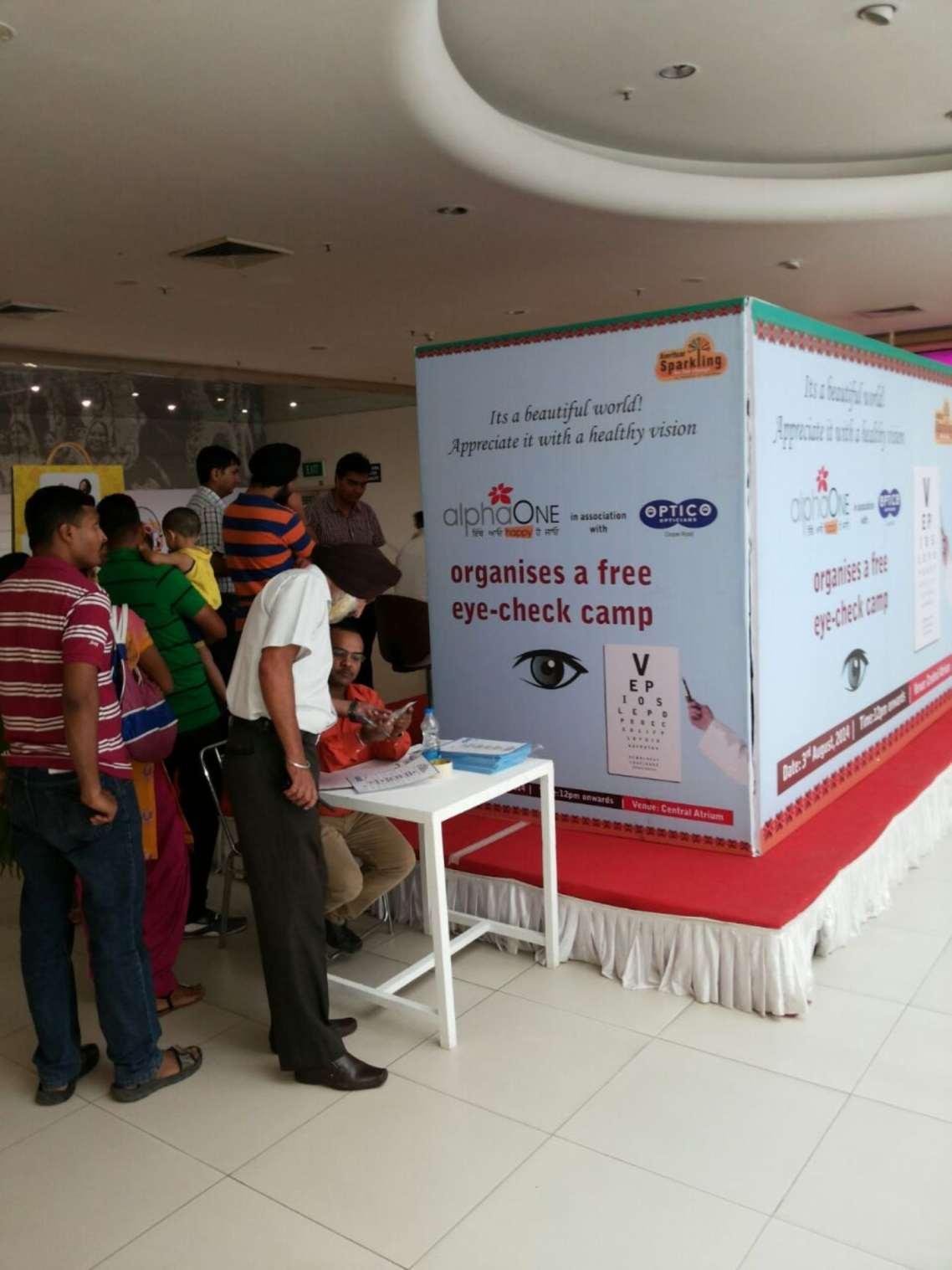 Free Eye Check-ups at AlphaOne, Amritsar