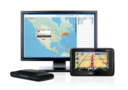 TomTom's fleet management and vehicle tracking solutions