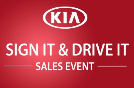 KIA Sign It & Drive It Sales Event l Michigan