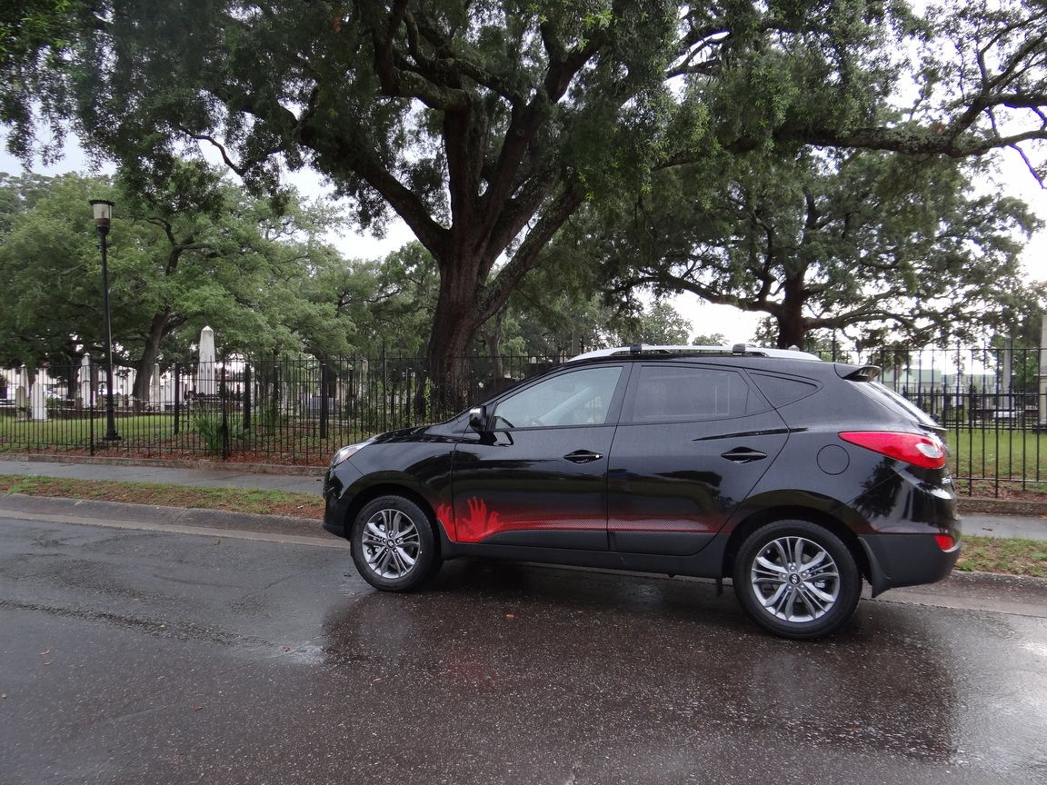 Allen Turner Has the 2014 Hyundai Tucson Walking Dead Special Edition