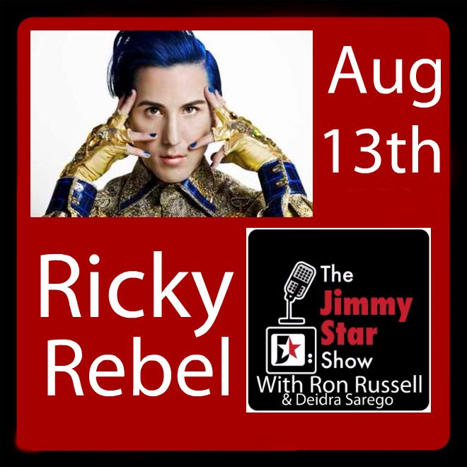 Ricky Rebel on The Jimmy Star Show