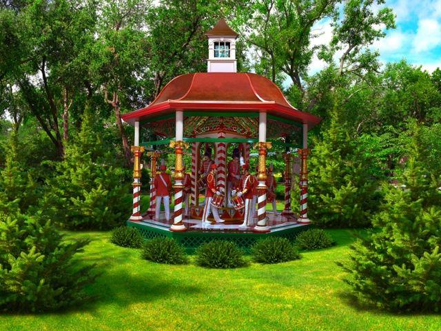 12 Days of Christmas Exhibit at the Dallas Arboretum