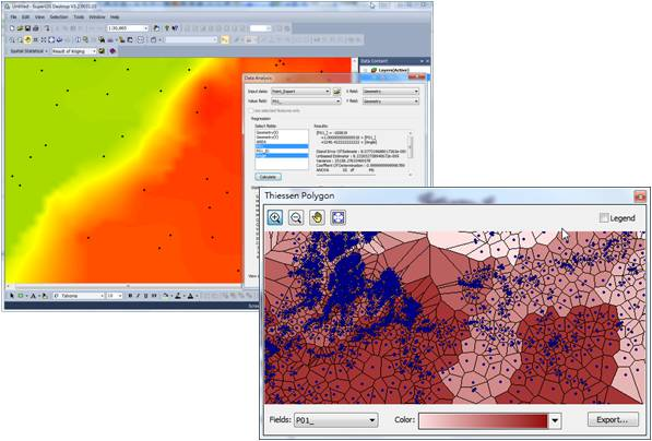 20140804 SuperGIS Spatial Statistical Analyst 3.2