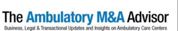 Ambulatory M&A