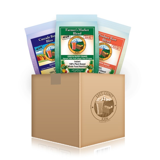 The Raw Sampler - Only $9.99 with FREE SHIPPING