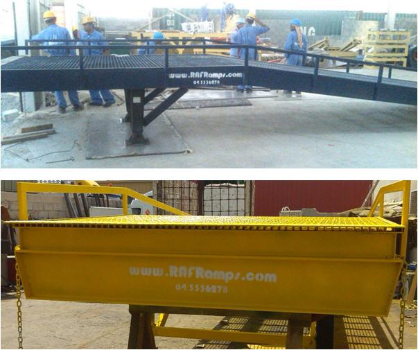 RafRamp Forklift Ramps
