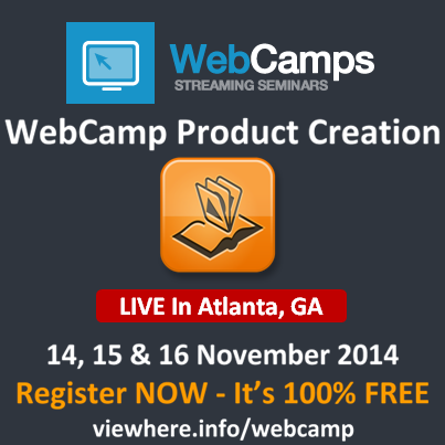 Webcamp Product Creation Live In Atlanta, GA FREE Event - Register Now!
