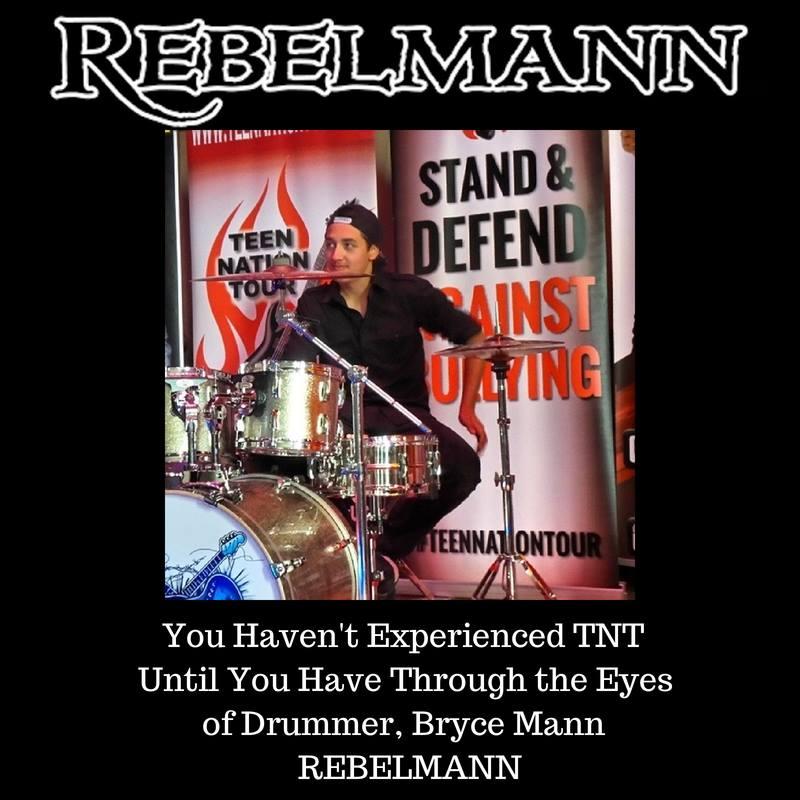 Bryce Mann, REBELMANN Drummer
