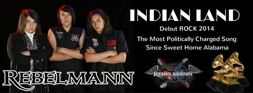 REBELMANN Debut Album INDIAN LAND