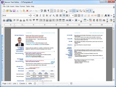 Nevron-text-editor