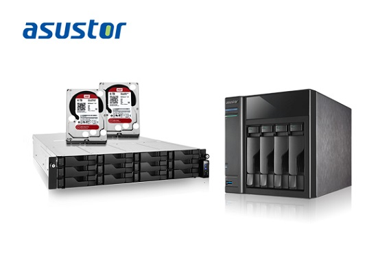 ASUSTOR Announces Compatibility for 5 New WD NAS Hard Drives