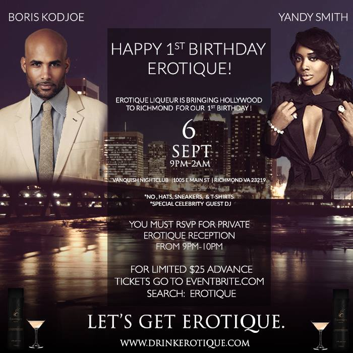 Erotique Liqueur One Year Anniversary!