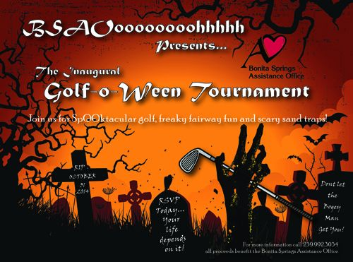 BSAO Golf Tournament Flyer