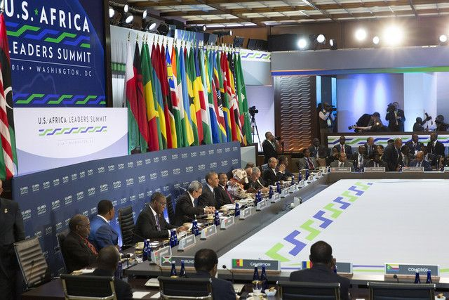 US Africa summit round table -DotConnectAfrica