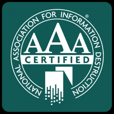 e-End is NAID AAA Certified for hard drive and electronic media sanitization