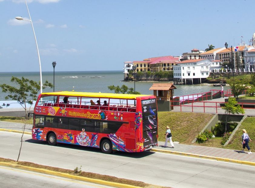 City Sightseeing Panama open top bus