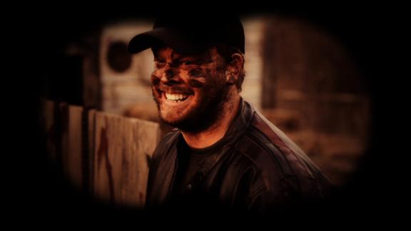 The lead cretin Jimbo in the movie Marrow.