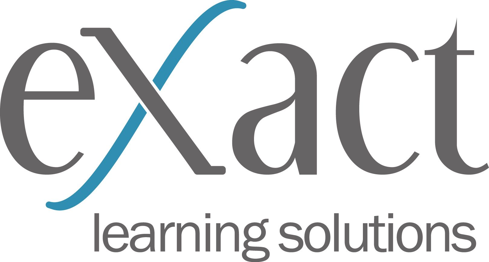 eXact learning solutions' logo.
