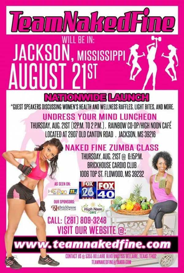 Team Naked Fine comes to Jackson, MS