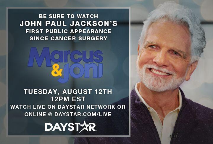 John Paul Jackson on Daystar Television
