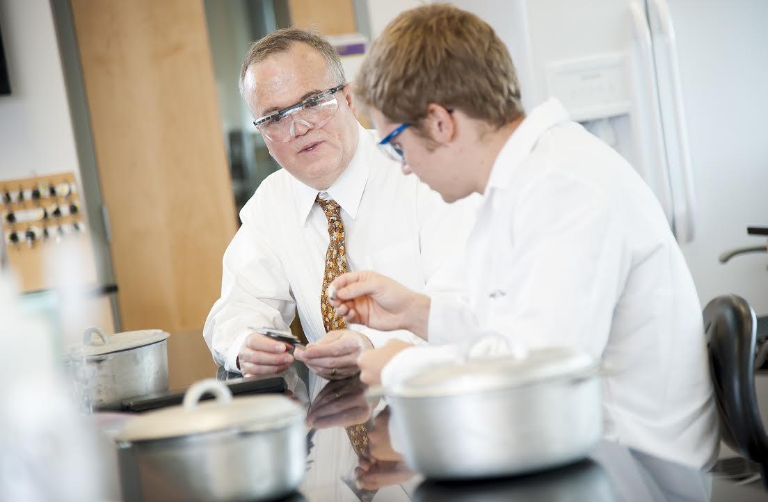 Dr. Jeff Weidenhamer, professor of chemistry at Ashland University and author