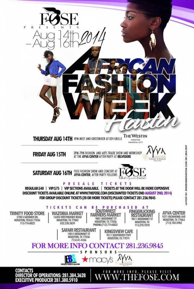 Africa Fashion Week Houston