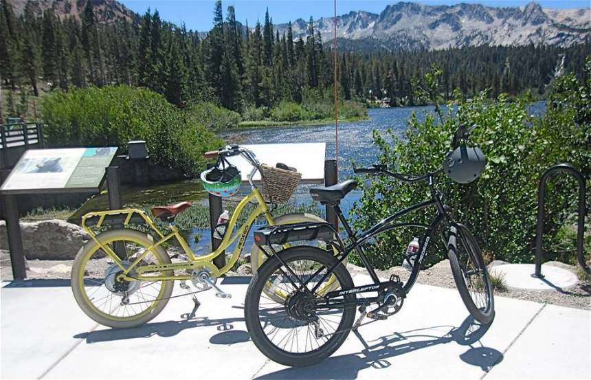 Pedego electric bikes take riders on fabulous outdoor adventures.