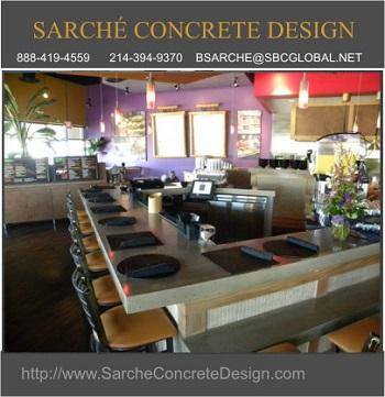 Custom Concrete Countertops
