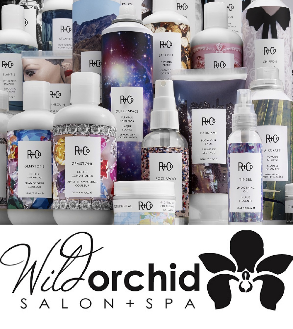 Wild Orchid Salon + Spa partners with R+Co