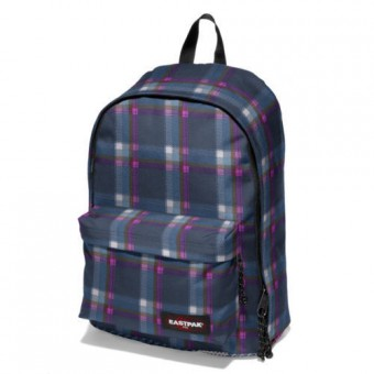 Eastpak Out Of Office Checked Pink Backpack