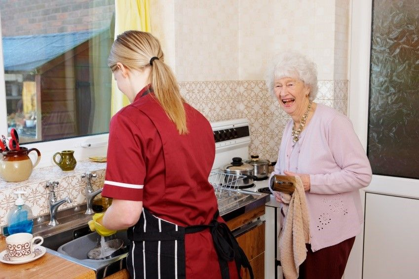 Maid Brigade Healthy Cleaning Tips for Caregivers of the Elderly
