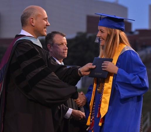 Alanna Battistini - Byrnes High School graduation