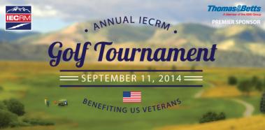 2014 IECRM Golf Tournament Fundraiser to Benefit United States Veterans