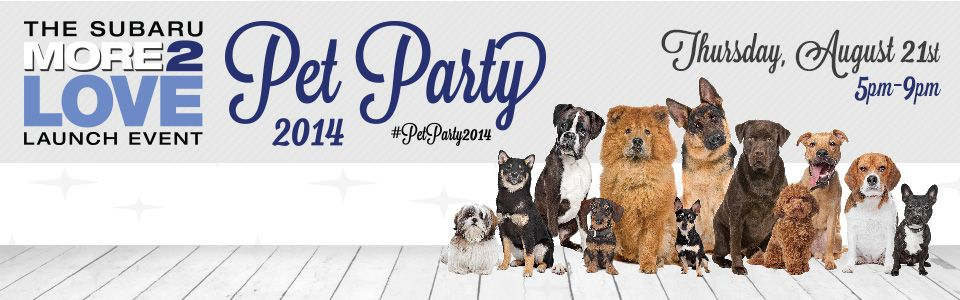 The Autobarn Subaru of Countryside Presents Pet Party 2014